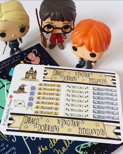 Headers and bottom washi stickers